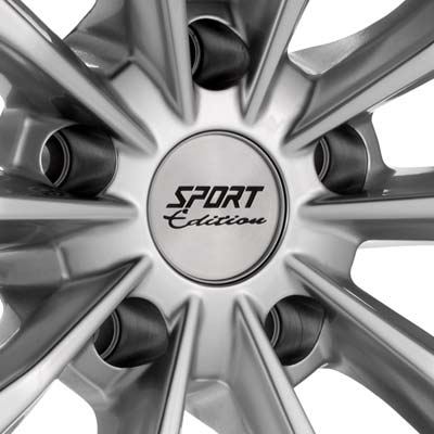 Sport Edition SE14 18 Rims Bright Silver Paint  RSX 0506