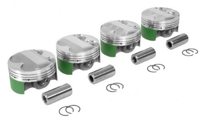 Cosworth Forged Piston Set - K20A 86mm 12:1CR - RSX