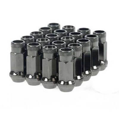 Muteki SR48 Gunmetal Lug Nuts (Open)