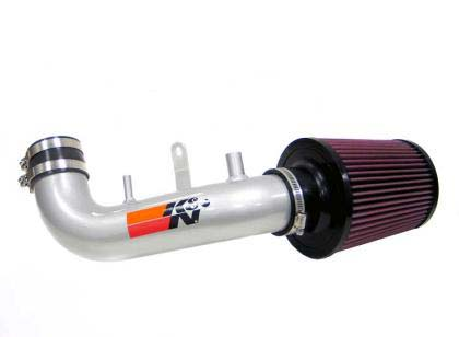 K&N Typhoon Short Ram Intake Silver - RSX 2002-2006 (Base Model)