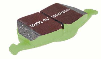 EBC Green Stuff Front Brake Pads - RSX Type-S 02-06