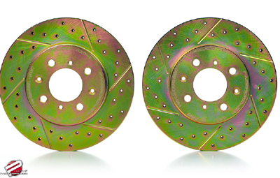 Password JDM Front Performance Brake Rotors 02-06 RSX Type S