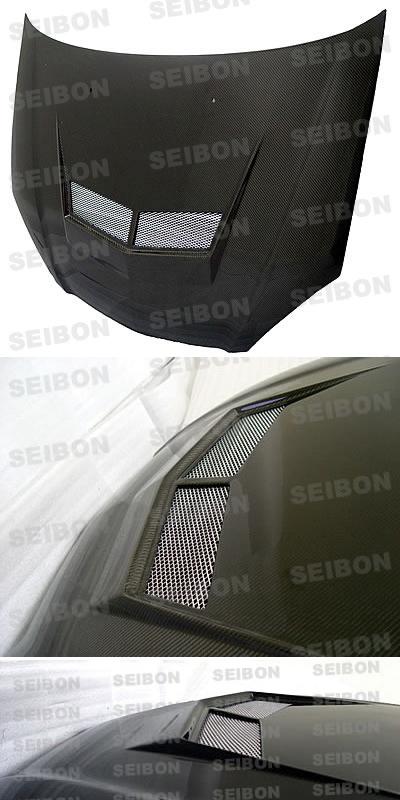 Seibon Carbon Fiber Hood VSII Style RSX RSX Body Kits - Acura rsx performance parts