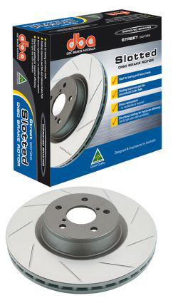 DBA Street Series Front Slotted Rotors Set - RSX Type-S 02-06