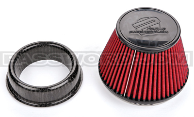 Password JDM Dry Carbon Fiber Velocity Stack for PowerChamber Intakes