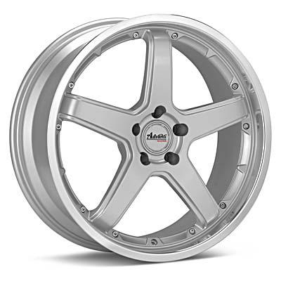 "Advanti Racing A2 Traktion 18"" Silver Rims - Acura RSX 02-04"