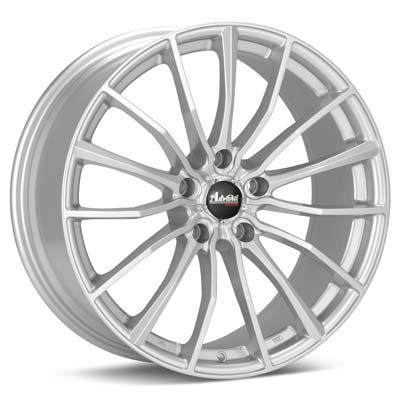 """Advanti Racing B1 Lupo 17"""" Silver Rims - Acura RSX 02-04"""