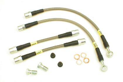 StopTech SS Rear Brake Lines - RSX 02-06