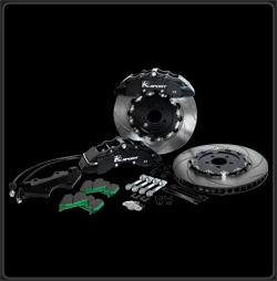 "KSport Acura RSX 2002-2006 Base Front 16"" / 400mm SuperComp 8 Piston Big Brake Kit"