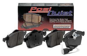 Centric Posi-Quiet Ceramic Front Brake Pads - Acura RSX 02-06 (Non-Type S)