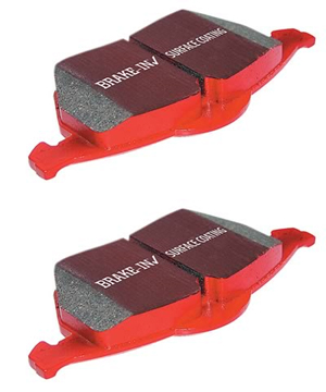 EBC Red Stuff FRONT Brake Pads Set - RSX 02-06