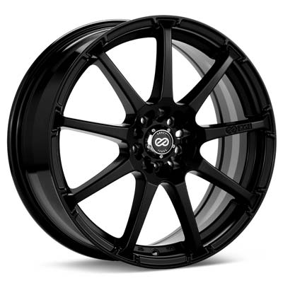 "Enkei Performance EDR9 18"" Rims Black Painted - RSX Type-s 02-04"