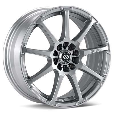 "Enkei Performance EDR9 18"" Rims Bright Silver Paint - RSX Type-s 05-06"