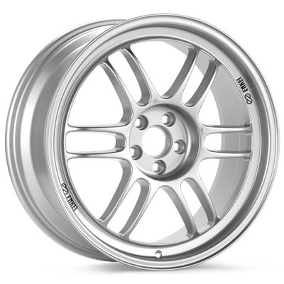 "Enkei Racing RPF1 18"" Rims Bright Silver Paint - RSX Type-s 02-04"