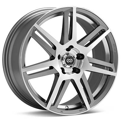 """Enkei Performance Aletta 18"""" Silver Machined w/Clearcoat Rims - Acura RSX"""
