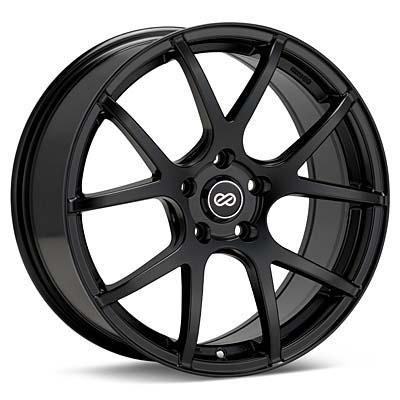 "Enkei Performance M52 16"" Black Painted Rims Set of 4 - RSX 02-04"