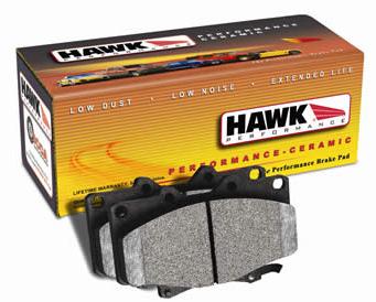 Hawk Ceramic FRONT Brake Pads Set - RSX 02-06 Base
