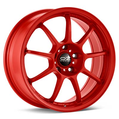 "O.Z. Alleggerita HLT 18"" Rims Red Painted - RSX 02-04"