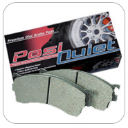 Centric Posi-Quiet Front Brake Pads - RSX Type S 02-06