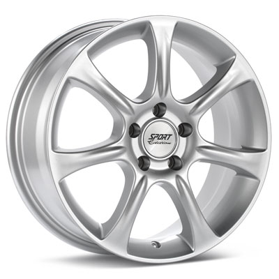 """Sport Edition A7 18"""" Rims Silver Painted - RSX 05-06"""