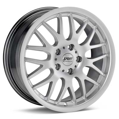 """Sport Edition CE 16"""" Rims Silver Painted - RSX 05-06"""