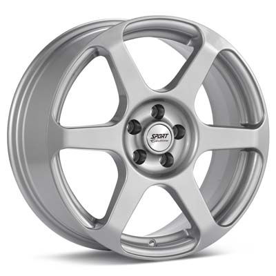 """Sport Edition F2 17"""" Rims Silver Painted - RSX 02-04"""