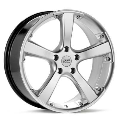 "Sport Edition KV5 18"" Rims Silver Painted - RSX Type-s 05-06"