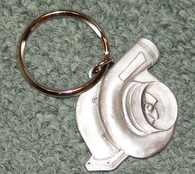 Turbo Charger KeyChain