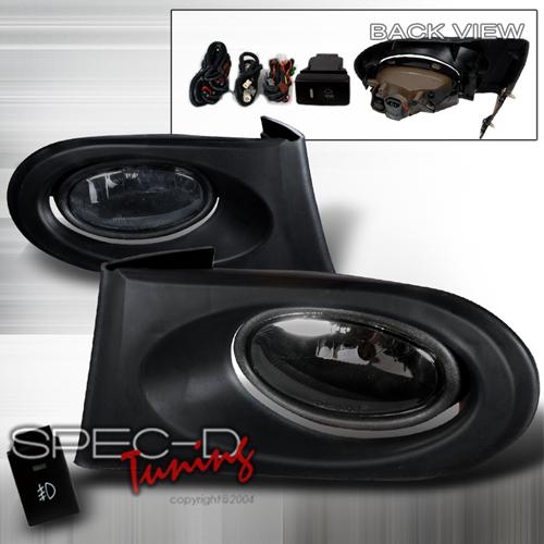 Spec-D Tuning OEM Style Fog Lights Kit Smoke - RSX 02-05