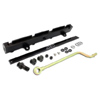AEM High Volume Fuel Rail Black - RSX 02-06