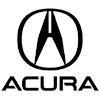 "Acura OEM Front ""A"" Emblem w/ Housing"