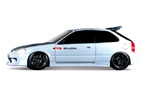Blox Racing Black Harness Bar - 2002-2006 Acura RSX