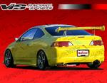 VIS Racing 2Dr Js Rear Bumper - RSX 2002 - 2004