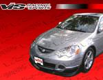 VIS Racing 2Dr Tracer 2 Carbon Fiber Lip - RSX 2002 - 2004