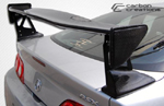 Extreme Dimensions 2002-2006 Acura RSX Carbon Creations Type M Wing Trunk Lid Spoiler - 1 Piece
