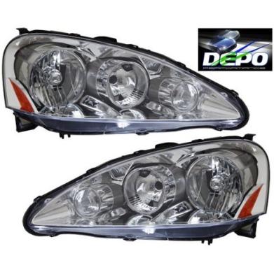 Spec D Chrome Euro Housing Headlights
