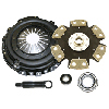 Competition Clutch Stage 4 - 6 Pad Rigid Ceramic Clutch Kit - RSX Type S 02-08
