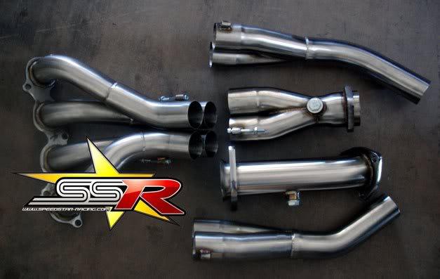 SSR Race Header 2.0 RSX DC5