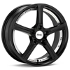 "Advanti Racing 15th Anniversary 18"" Rims Set of 4 Black Painted"