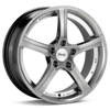 "Advanti Racing 15th Anniversary 17"" Bright Silver Rims - Acura RSX 02-04"