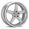 "Advanti Racing A2 Traktion 18"" Silver Rims - Acura RSX 02-04"