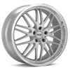 "Advanti Racing A4 Kudos 18"" Bright Silver Rims - Acura RSX 02-04"