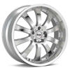 "Advanti Racing A9 Costola 18"" Silver Rims - Acura RSX 02-04"