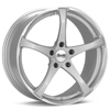 "Advanti Racing B2 Denaro 17"" Silver Rims - Acura RSX 02-04"