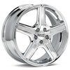 "American Racing Maverick 16"" Chrome Plated Rims - Acura RSX"