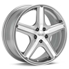 "American Racing Maverick 16"" Machined w/Anthracite Accent Rims - Acura RSX"