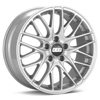 BBS CS5 Bright Silver Paint Rims Set of 4 - RSX 02-04