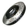 StopTech Cross Drilled Front Rotors Set - RSX Base 02-06