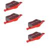 EBC Red Stuff FRONT + REAR Brake Pads COMBO - RSX 02-06