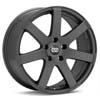 "Enkei Performance BR7 17"" Matte Grey Rims Set of 4 - RSX 02-04"